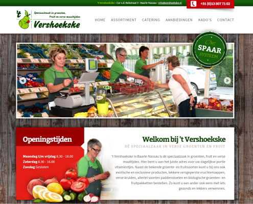 Website Vershoekske